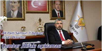 Başkan Aksu'dan Seçim Süreci Değerlendirmesi