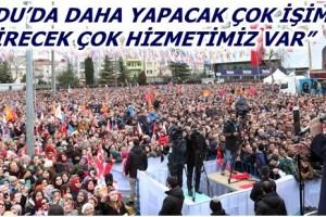 Cumhurbaşkanı Erdoğan Ordu'da Halka Hitap Etti