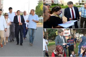 Altınordu Belediyesi Yaz Dönemi Programı İçin Sahada