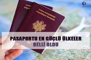Pasaportu Güçlü Olan Ülkeler