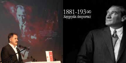 Başkan Cemil Deveci'den 10 Kasım Mesajı