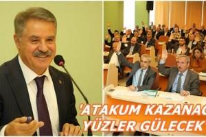 Atakum'da İlk Meclis Toplantısı Yapıldı