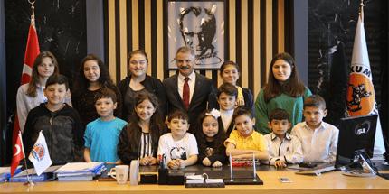 Başkan Deveci; 'Her Şey Çocuklarımız İçin'