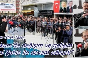 Başkan Taşçı; 'Atakum'da Değişim ve Gelişim Devam Edecek'