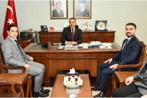 Ayvacık'tan Vali Osman Kaymak'a Ziyaret