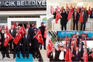 Ayvacık Belediyesi Meclisi'nden Barış Pınarı Harekatına Tam Destek