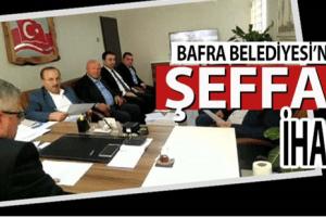 Bafra'da Şeffaf Belediyecilik Örneği