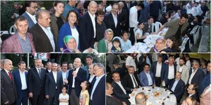 Bafralılar, İstanbul'da İftarda Kucaklaştı