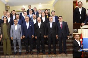 Bakan Mevlüt Çavuşoğlu Samsun Büyükşehir'de