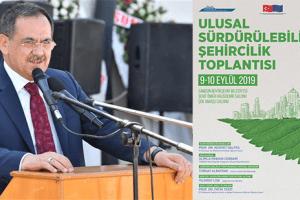 Büyükşehir'den Ulusal Sürdürülebilir Şehircilik Toplantısı