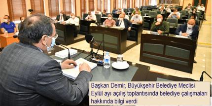 """Başkan Demir: """"Su Kesintisinin Sebebi Trafo Patlaması"""""""