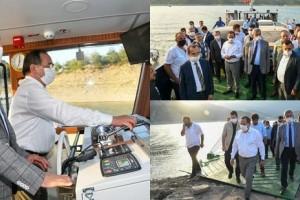 Yeni Feribot Altınkaya Baraj Gölü'nde  Hizmete Başladı