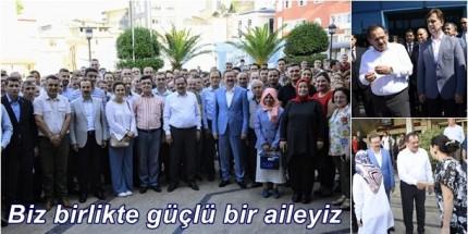 Mustafa Demir'den Birlik ve Beraberlik Mesajları