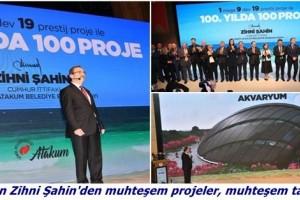 Atakum İçin 100'üncü Yılda 100 Proje