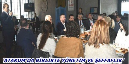Başkan Zihni Şahin, SAYİDER'li İş İnsanlarına Projelerini Anlattı
