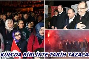 Başkan Zihni Şahin, 5 Mahallede 5 Miting Yaptı, Müjdeler Yağdırdı