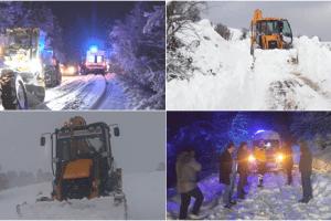 Büyükşehir Yoğun Kar Mesaisi Yapıyor, Kapalı Yol Yok