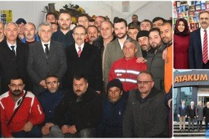 Zihni Şahin Atakum Belediyesi Çalışanlarıyla Buluştu