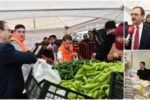 Samsun'da Tanzim Satış Noktaları Faaliyete Geçti