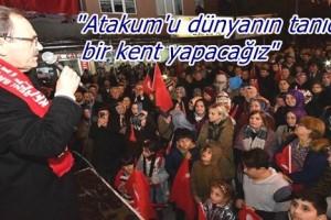 Başkan Zihni Şahin: ' Atakum Dünya Kenti Olacak'