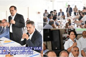 Başkan Mustafa Demir, Atakum İlçesi'nde Muhtarlarla Buluştu