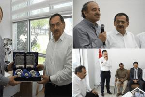Eski Bakan Faruk Özak'tan Mustafa Demir'e Hayırlı Olsun Ziyareti