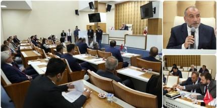 Canik Belediye Meclisi Dualarla Açıldı