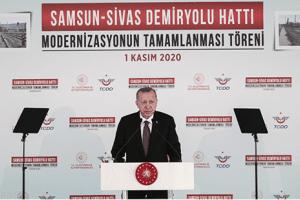 Samsun-Sivas Demiryolu Hattı Modernizasyonu Tamamlandı