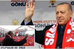 Cumhurbaşkanı Erdoğan Samsunlulara Hitap Etti