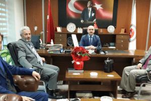 Samsunlu Gazetecilerden Başsavcı Semiz'e Ziyaret