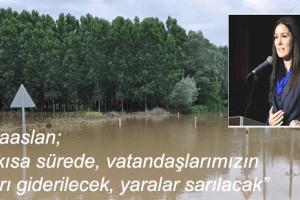Samsun'da Afetin Yaraları Sarılıyor