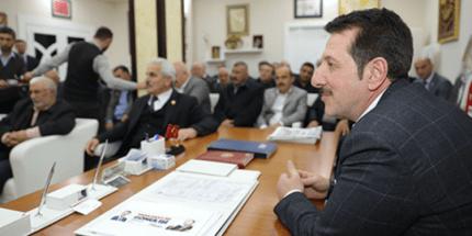 İlkadımlı Muhtarlardan Başkan Erdoğan Tok'a Tam Destek