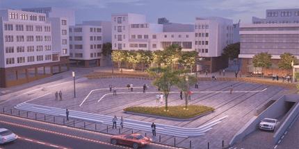 Fatsa Meydan Projesinin Yüzde 70'i Tamamlandı