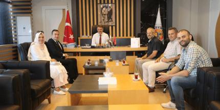 19 Mayıs Gazeteciler Cemiyeti'nden Başkan Deveci'ye Ziyaret