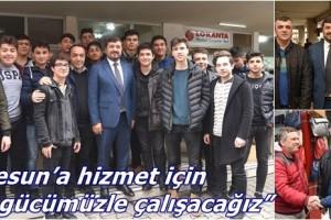 Başkan Şenlikoğlu Teşekkür Ziyaretlerine Devam Ediyor