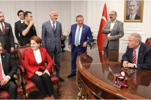 Kılıçdaroğlu ve Akşener İlkadım'da Ağırlandı