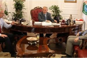 SAMÜ Rektörü Mahmut Aydın'dan Başkan Demirtaş'a Ziyaret