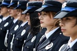 Üç Bin Kadın Polis Memuru Alınacak