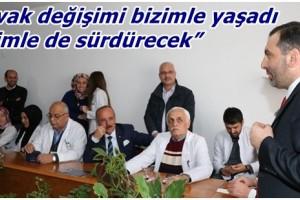 """Sarıcaoğlu: """" Kavak Değişimi Bizimle Yaşadı"""""""