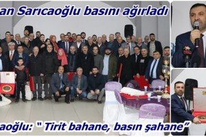 Kavak Belediye Başkanı Sarıcaoğlu Samsun Basını İle Bir Araya Geldi