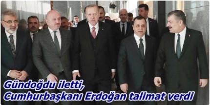 Cumhurbaşkanı Erdoğan'dan Ulubey Sayaca Yolu İçin Talimat