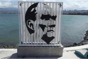 Atatürk Silüeti Sahildeki Yerinde