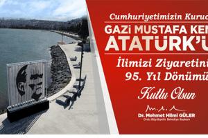 Atatürk 95 Yıl Önce Ordu'daydı