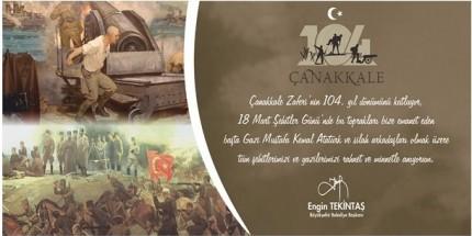 """""""18 Mart, Kahramanlık Destanının Yazıldığı Tarihtir"""""""