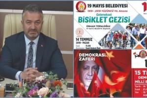 19 Mayıs Belediyesi 100. Yıl Etkinliklerine Devam Ediyor