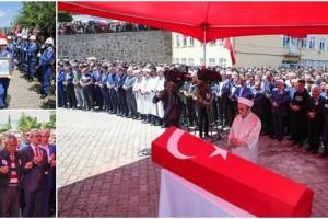 Şehit Salih Altuntaş Aybastı'da Son Yolculuğuna Uğurlandı