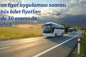 Otobüs Bileti Fiyatları Ucuzladı
