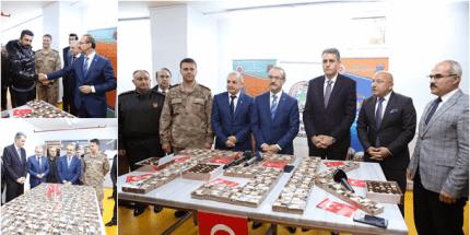 Ordu'dan Kahraman Mehmetçiğimize Çikolata Desteği