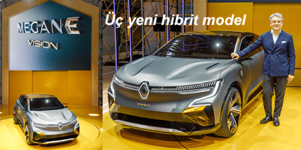 Renault Grubundan Yeni Elektrikli Vizyon