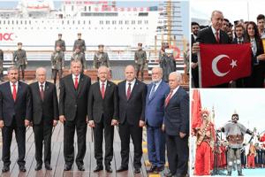 Samsun'da Muhteşem 100. Yılı Kutlaması